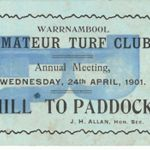 Amature turf club 1901