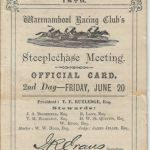 Steeplechase meeting 1879